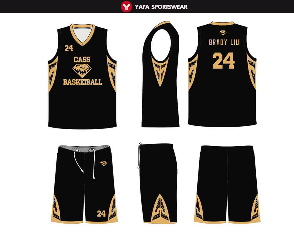 Customize Basketball Uniforms Yafa Sports Wear